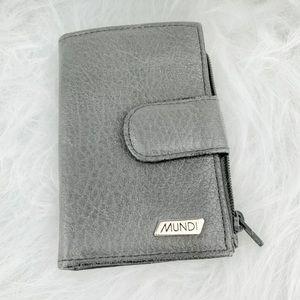 Mundi • Genuine Leather 6 Key Ring Holder Pouch